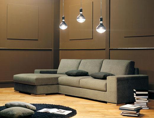 Divani ad angolo etereo 2 divani d 39 autore by salotti ursella for Rivestire divano ad angolo