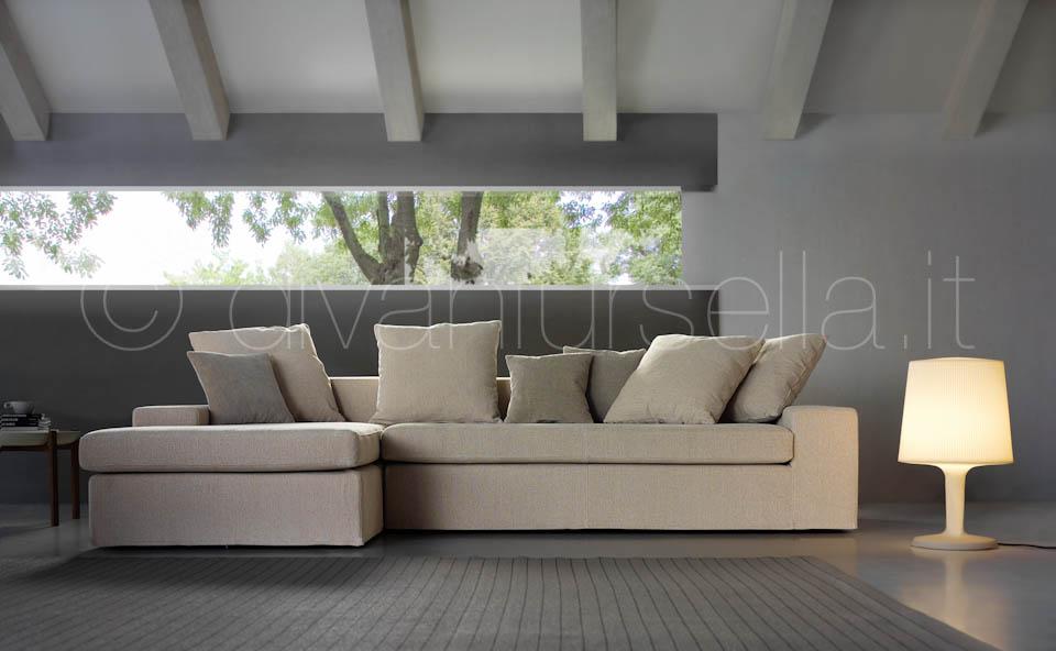 Divani ad angolo ares 2 divani d 39 autore by salotti ursella for Divani ad angolo in tessuto