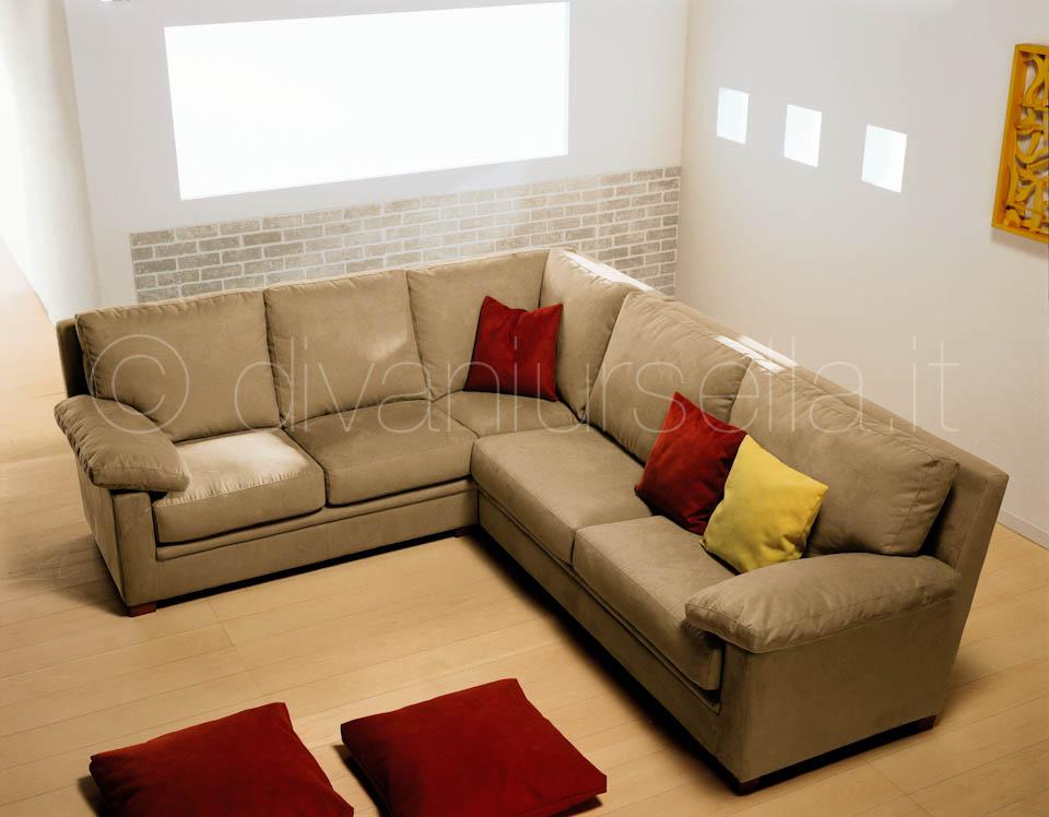 Divani ad angolo atlantic divani d 39 autore by salotti ursella - Divano letto ad angolo ...